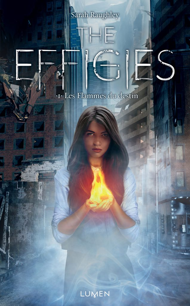 Book Cover - Fate of Flames - French Version